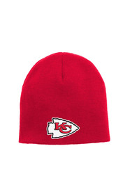 KC Chiefs Red Basic Baby Knit Hat