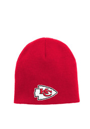 KC Chiefs Red Basic Youth Knit Hat