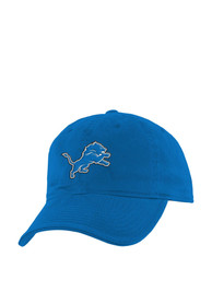 Detroit Lions Baby Washed Slouch Adjustable Hat - Blue