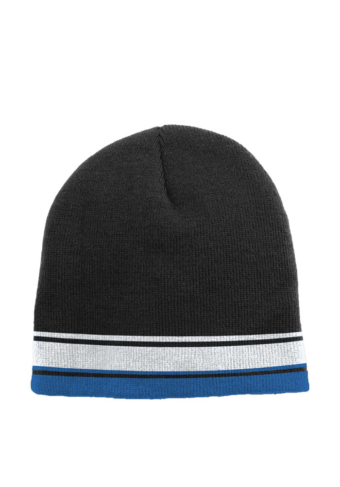Detroit Lions Blue Cuffless Youth Knit Hat - Image 2