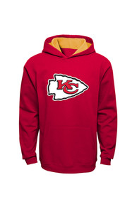Kansas City Chiefs Kids Red Youth Prime Hooded Sweatshirt