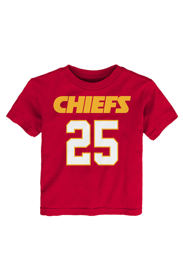 Jamaal Charles Kansas City Chiefs Toddler Red Mainliner Short Sleeve Player T Shirt - Image 1