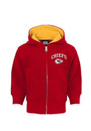 KC Chiefs Baby Red Infant Pledge Full Zip Jacket