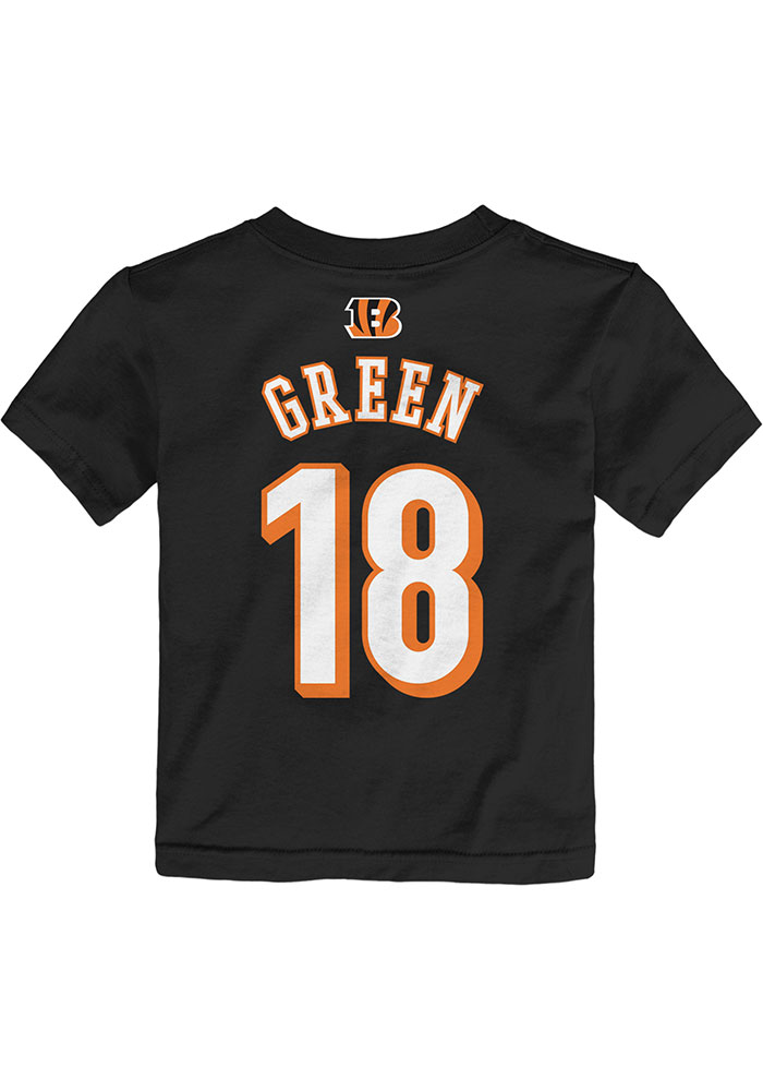 AJ Green Cincinnati Bengals Toddler Black Player Player Tee