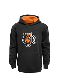 Cincinnati Bengals Kids Black Youth Prime Hooded Sweatshirt