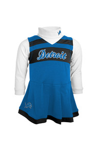 Detroit Lions Baby Infant Dress Cheer - Blue