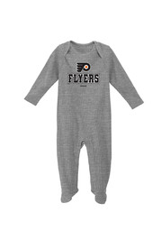 Philadelphia Baby Grey Newborn Big Fan Bodysuit Creeper