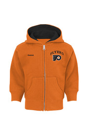 Philadelphia Baby Orange Infant Pledge Full Zip Jacket
