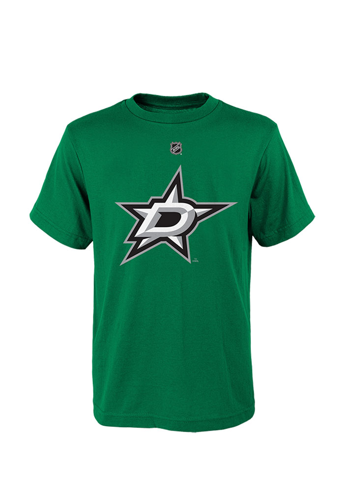 Tyler Seguin Dallas Stars Youth Green Youth Seguin Player Tee - Image 1