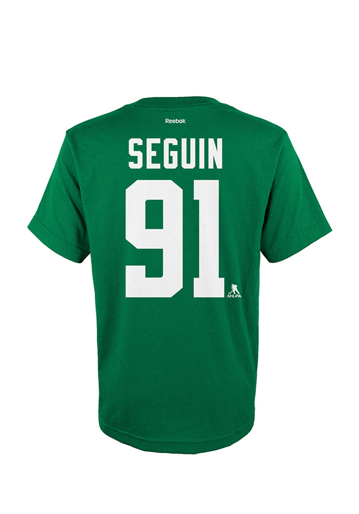 Tyler Seguin Dallas Stars Youth Green Youth Seguin Player Tee - Image 2