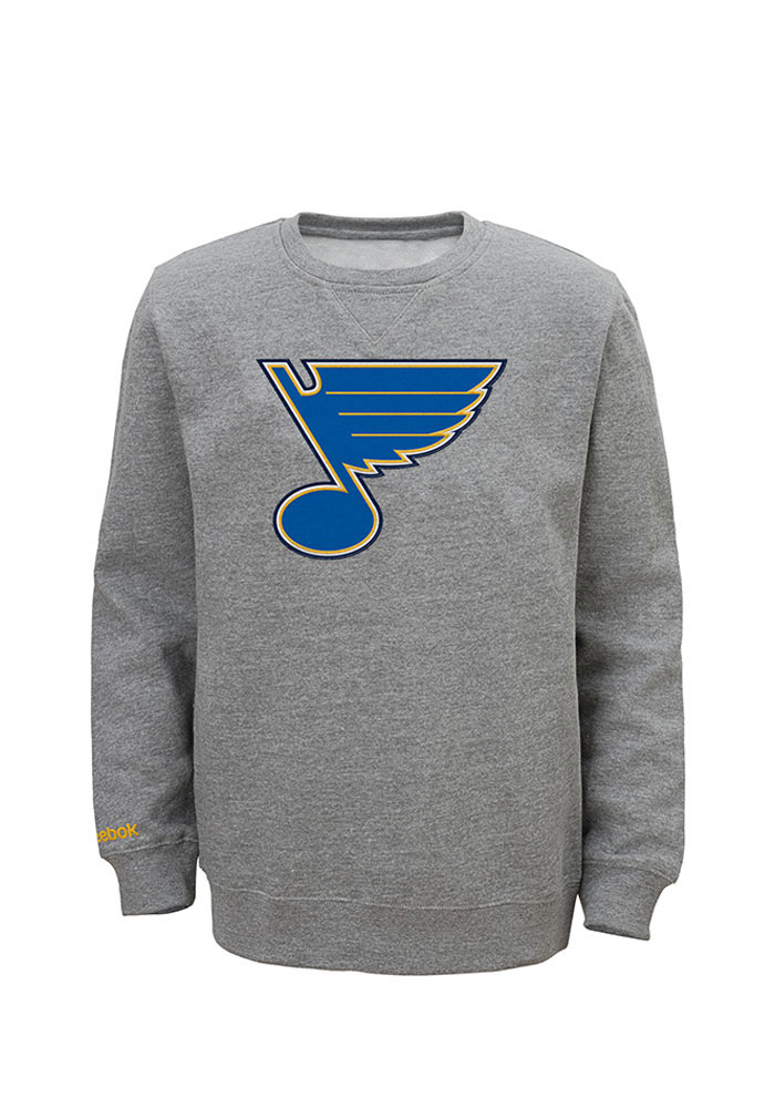 STL Blues Boys Grey Boys 4-7 Prime Sweatshirt 13343267