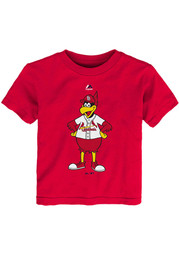 St Louis Cardinals Youth Red Mascot T-Shirt