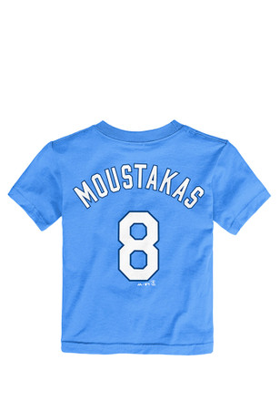 Mike Moustakas KC Royals Toddler Light Blue Player Tee Player Tee