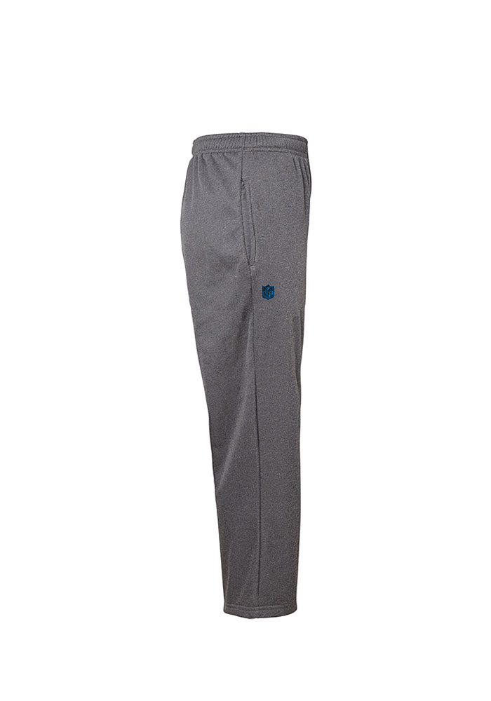 Detroit Lions Youth Grey Performance Track Pants - Image 2