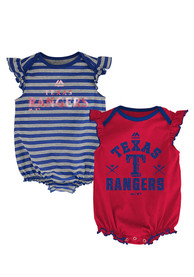 Texas Rangers Baby Blue Team Sparkle One Piece