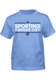 Sporting Kansas City Boys Light Blue Dassler T-Shirt