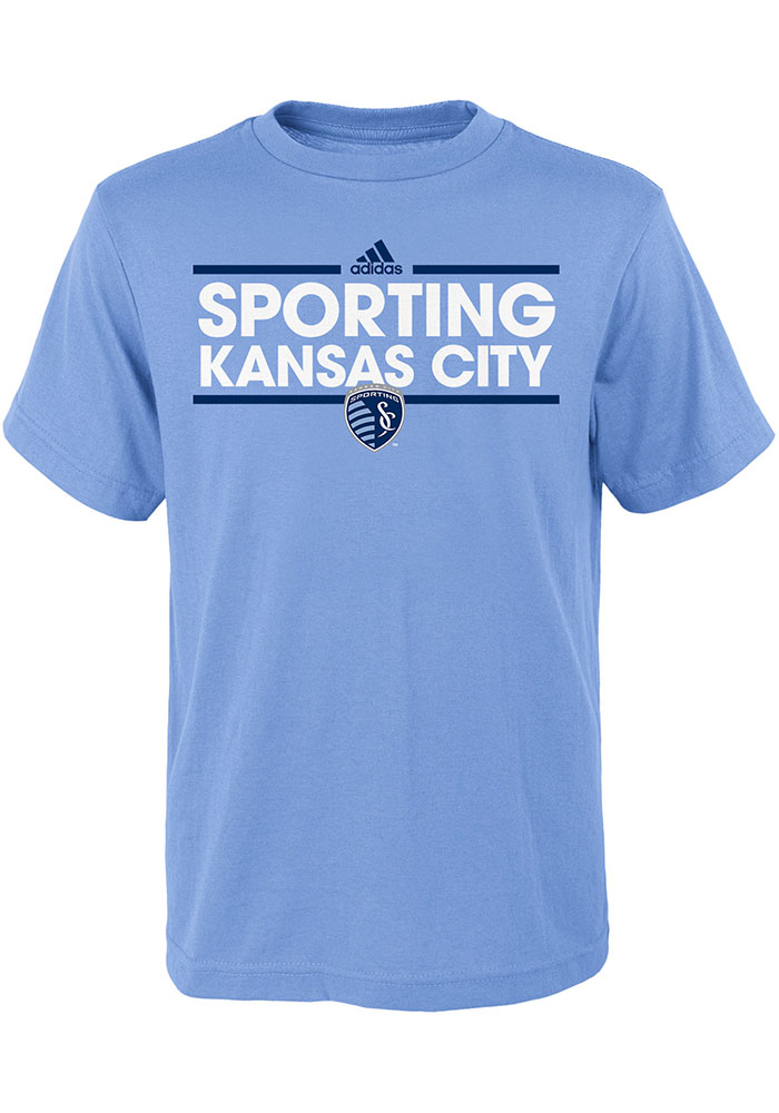 Sporting Kansas City Youth Light Blue Dassler T-Shirt