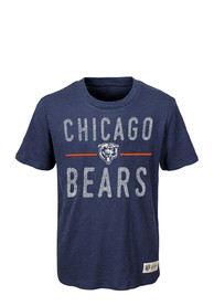 Chicago Bears Youth Navy Blue Descendant Fashion Tee