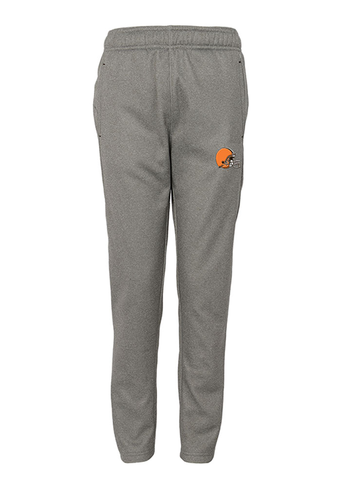 Cleveland Browns Youth Grey Ambit Track Pants - Image 1