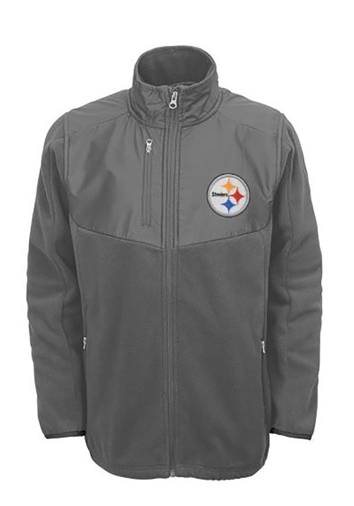 Pittsburgh Steelers Youth Grey Tactical Light Weight Jacket 8f332c773