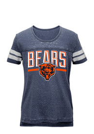 Chicago Bears Girls Navy Blue Stated T-Shirt