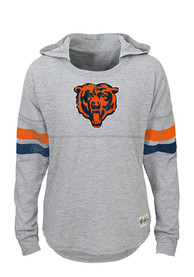 Chicago Bears Girls Grey Campus Long Sleeve T-shirt