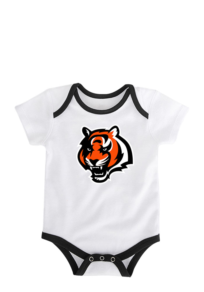 Cincinnati Bengals Baby Black 3 Points One Piece - Image 2