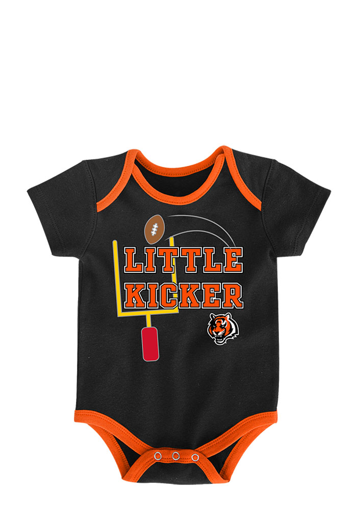 Cincinnati Bengals Baby Black 3 Points One Piece - Image 4