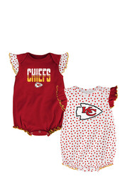KC Chiefs Baby Red Jumper Creeper