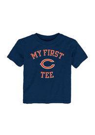 Chicago Bears Toddler Navy Blue Jumper T-Shirt