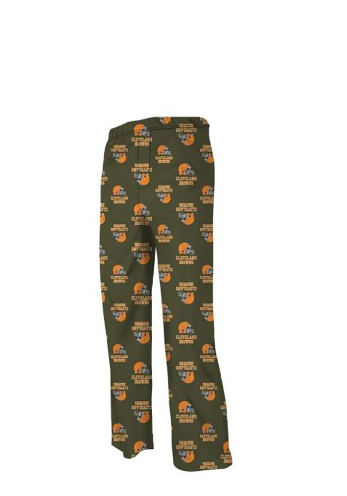 Cleveland Browns Youth Brown Jumper Sweatpants - Image 1