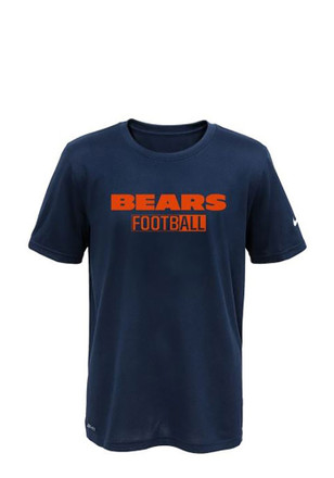 Chicago Bears Youth Navy Blue All Football Legend T-Shirt