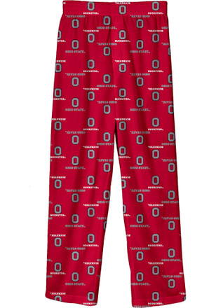 The Ohio State University Kids Red All Over Sleep Pants