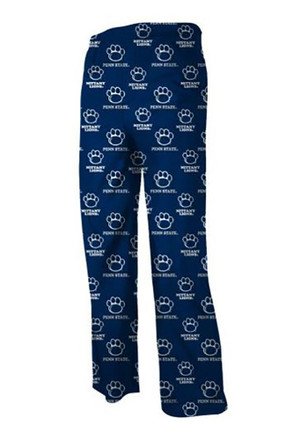 Penn State Nittany Lions Youth Navy Blue All Over Sleep Pants