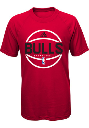Chicago Bulls Youth Red Ultimate T-Shirt