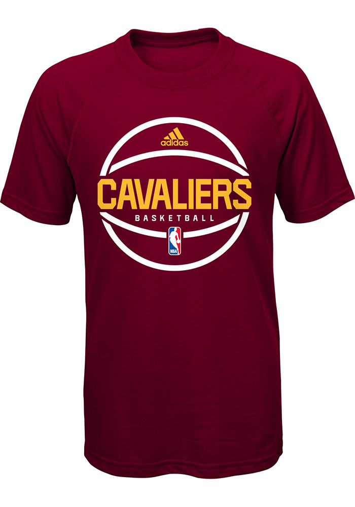 Cleveland Cavaliers Youth Red Ultimate Short Sleeve T-Shirt - Image 1