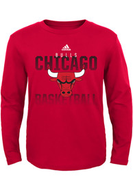 Chicago Bulls Youth Red Fade Away T-Shirt