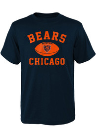 Chicago Bears Youth Navy Blue Standard Issue T-Shirt