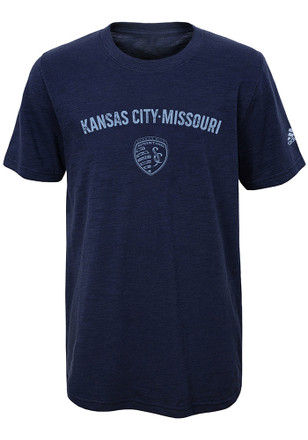 Sporting Kansas City Youth Navy Blue City Worn Fashion Tee