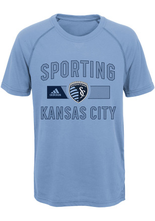Sporting Kansas City Youth Light Blue Forward T-Shirt