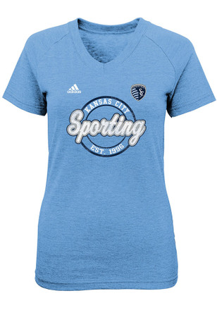 Sporting Kansas City Girls Navy Blue Dusty Sky T-Shirt