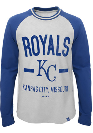 Kansas City Royals Youth Grey Our Home T-Shirt