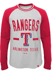 Texas Rangers Youth Grey Our Home T-Shirt