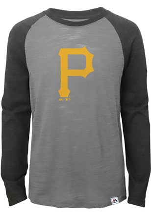 Pitt Pirates Kids Grey Grueling Ordeal T-Shirt