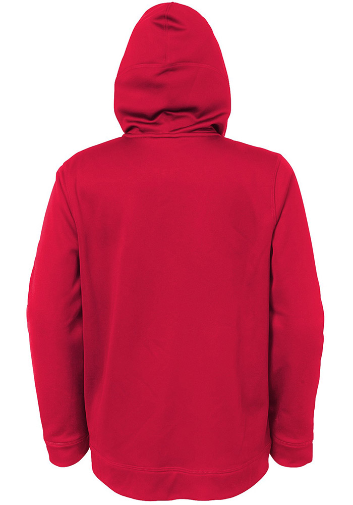 St Louis Cardinals Youth Red Club Series Long Sleeve Full Zip Jacket - Image 2