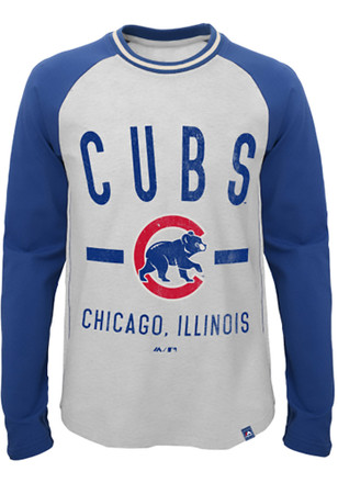 Chicago Cubs Kids Grey Our Home T-Shirt