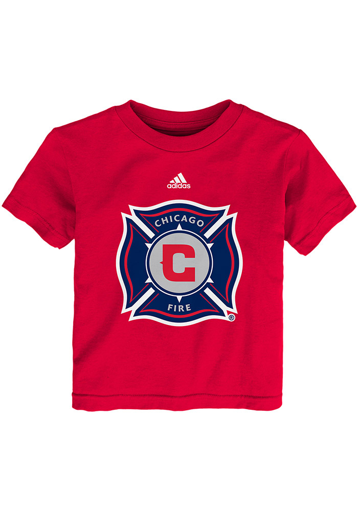 Chicago Fire Toddler Red Primary Logo Short Sleeve T-Shirt - Image 1