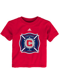 Chicago Fire Toddler Red Primary Logo T-Shirt