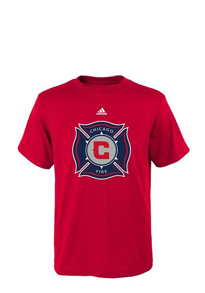 Chicago Fire Youth Red Primary Short Sleeve T-Shirt - Image 1