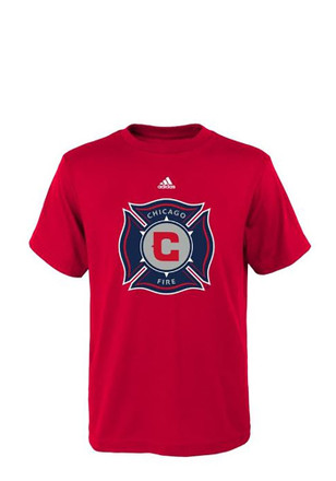 Chicago Fire Kids Red Primary T-Shirt